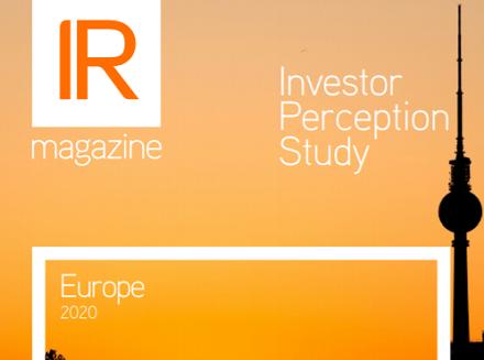 Investor Perception Study – Europe 2020