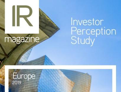 Investor Perception Study – Europe 2019