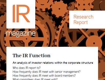 IR Function report
