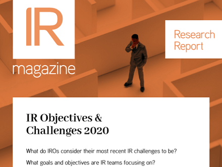 IR Objectives & Challenges report