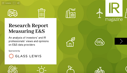 Measuring E&S report 2020