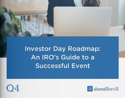 Investor day roadmap guide