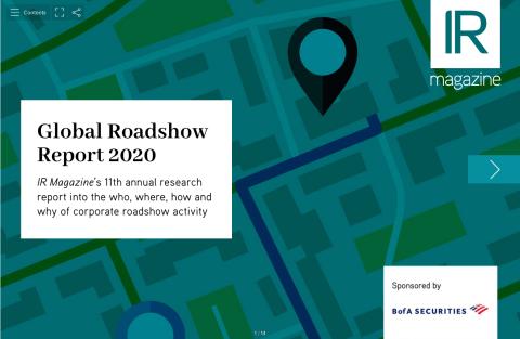 Global Roadshow Report 2020