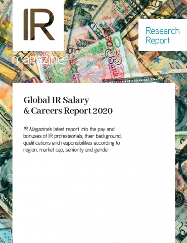 Global IR Salary & Careers Report 2020