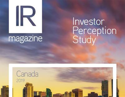 Investor Perception Study – Canada 2019