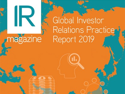 Global Investor Relations Practice Report 2019 – Global Overview