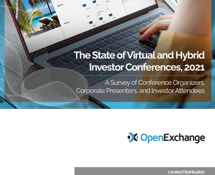 The state of virtual and hybrid investor conferences 2021
