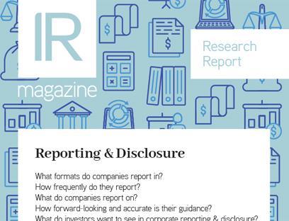 Investor relations professionals magazine | IR Magazine