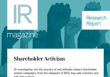 Shareholder Activism report