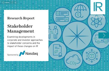 Stakeholder Management report