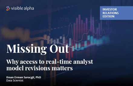 Missing out: Why access to real-time analyst model revisions matters