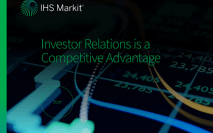Investor Relations is a competitive advantage