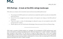 ESG Ratings – A look at the ESG ratings landscape