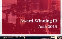 Award-Winning IR – Asia 2018 is now available