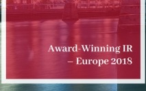 Award Winning IR - Europe 2018 is now available