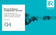 Corporate Access report now available