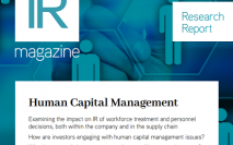 Human Capital Management report now available