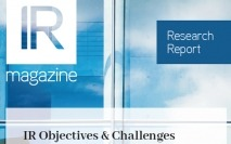 IR Objectives & Challenges report now available