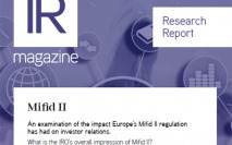 Mifid II report now available