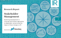Stakeholder Management report now available