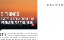 5 things every IR team should be prepared for this year