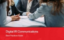 Digital Investor Relations Communications Best Practices Guide